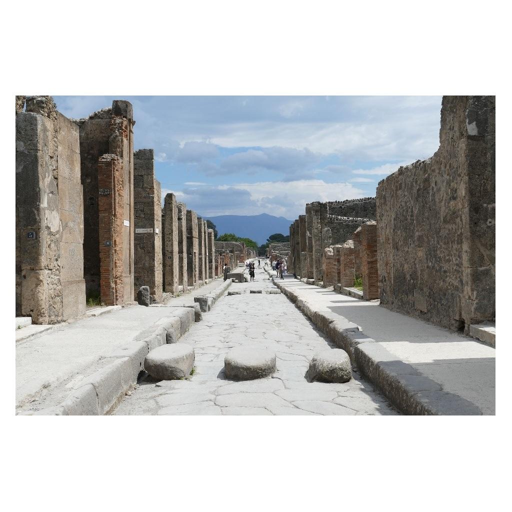 Pompei è stata bonificata dalle bombe foto