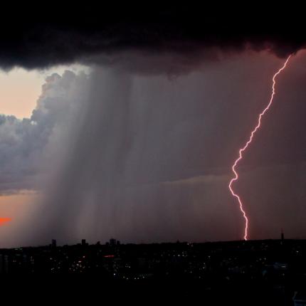 In arrivo temporali e venti