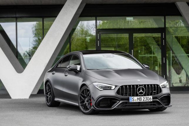 Nuovi modelli presentati da Mercedes AMG A 45 S 4MATIC e CLA 45 4MATIC+