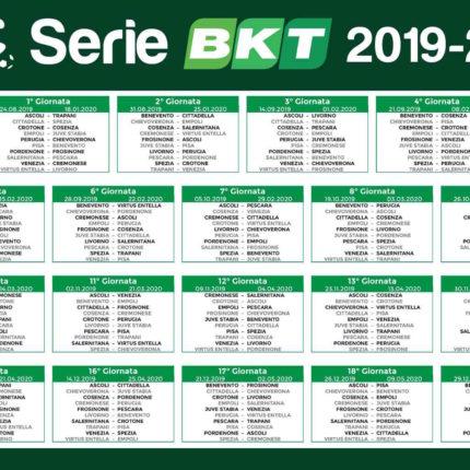 Calendario Serie B 2019