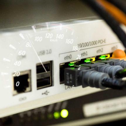 Connessione Internet e servizio Speed Test