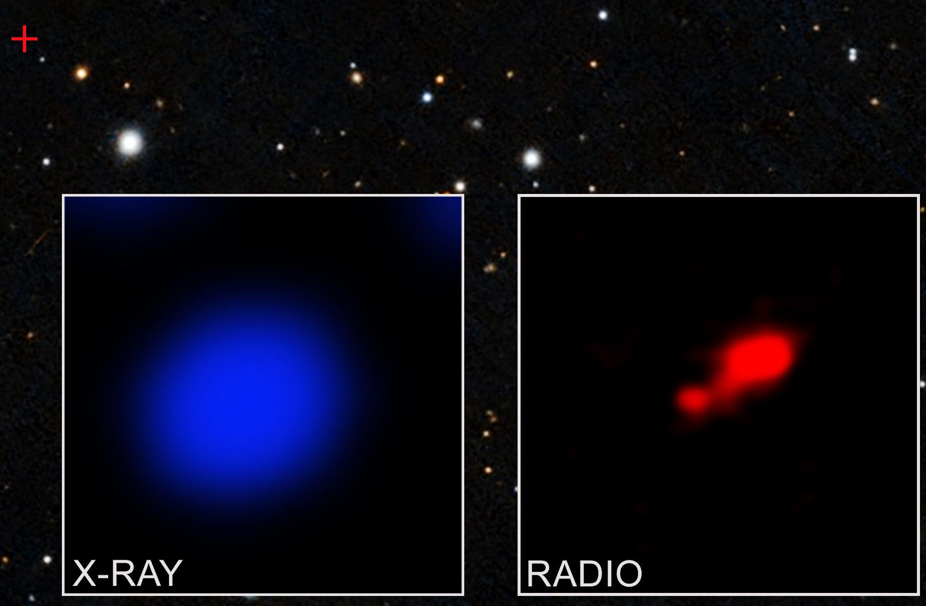 Chandra vede quasar Pso167-13