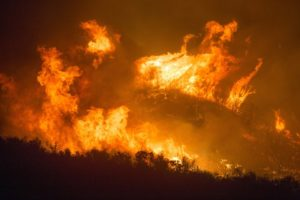 Incendio isola Gran Canaria