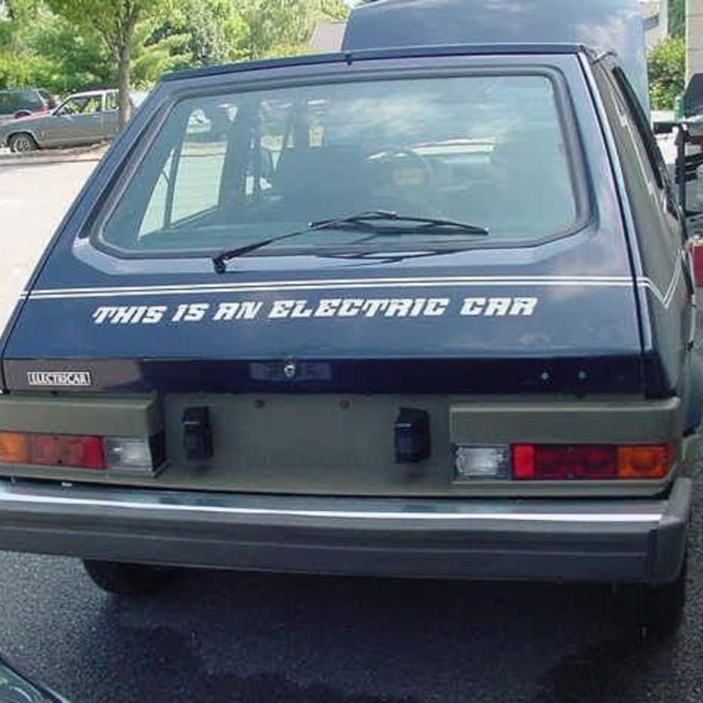 Fiat Ritmo elettrica