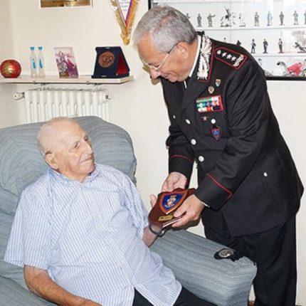 Il carabiniere più anziano d'Europa foto