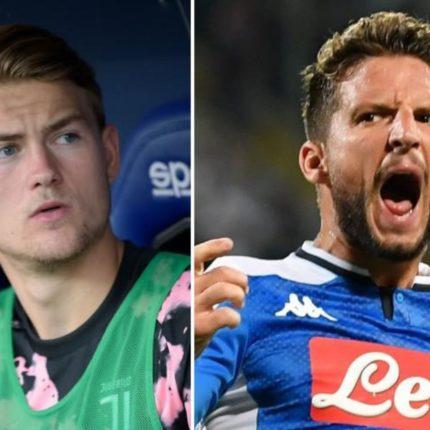 La Juventus affronta il Napoli