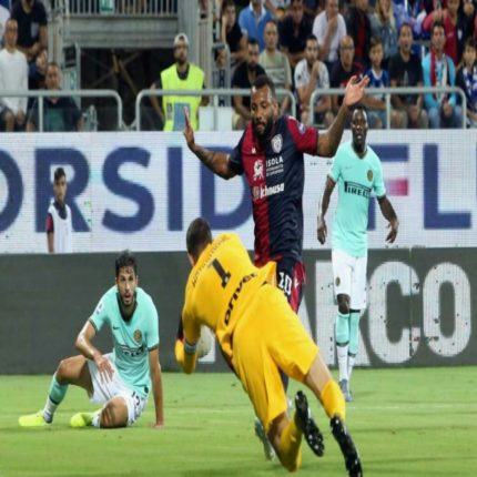Cagliari Vs Inter, polemiche accese dei rossoblu