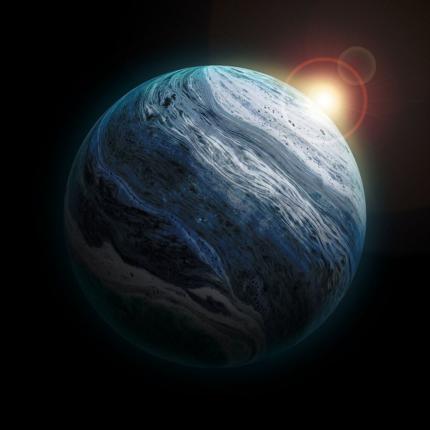 Scoperto pianeta con vapore acqueo