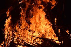 Grave incendio Avellino