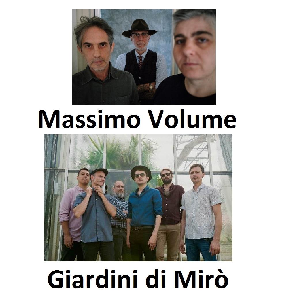 Massimo Volume e Giardini di Mirò in concerto ad Ancona foto