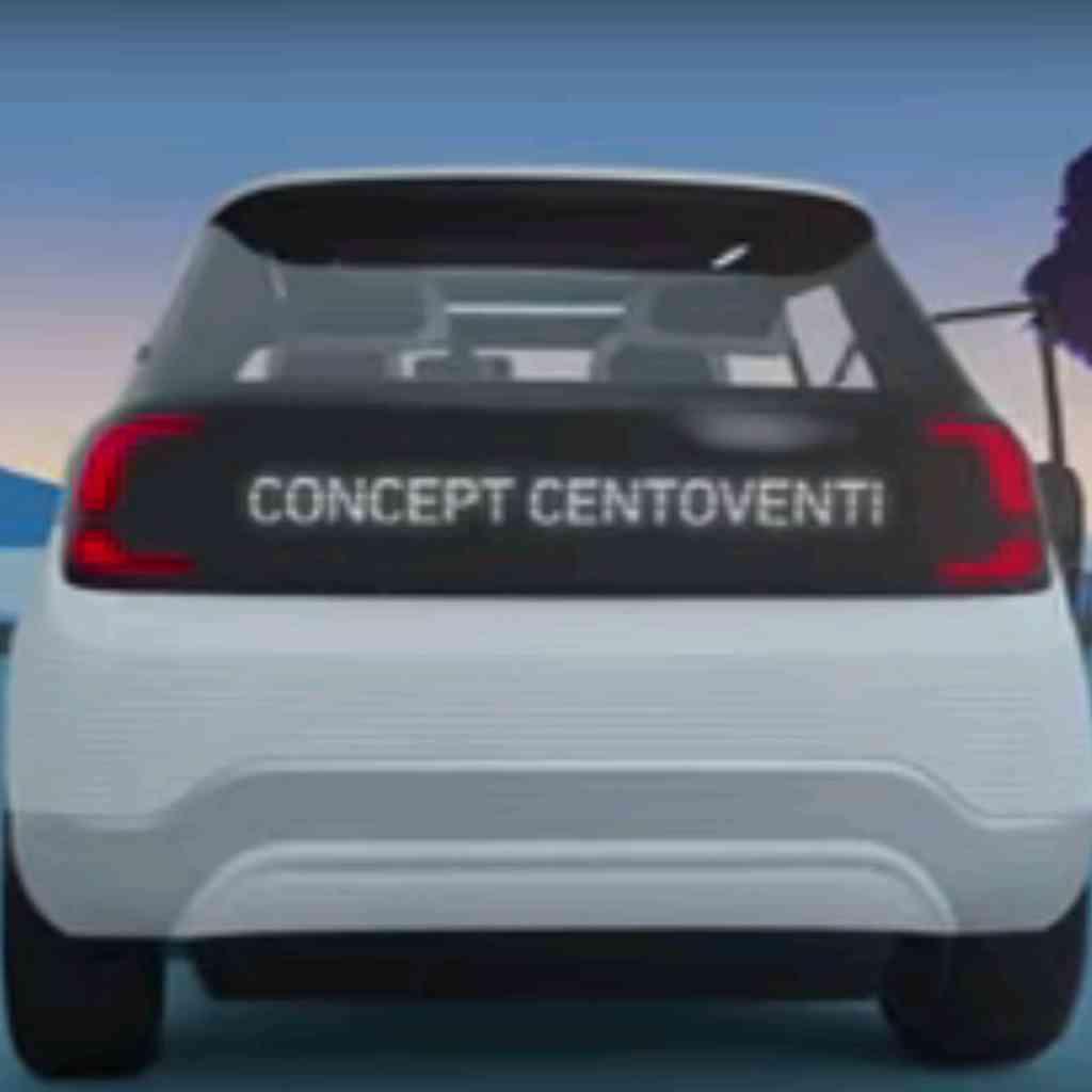 Fiat 500 elettrica da 2020