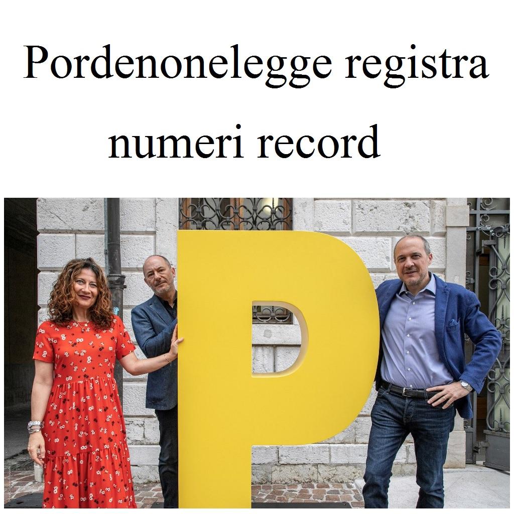 Pordenonelegge resistra numeri record foto