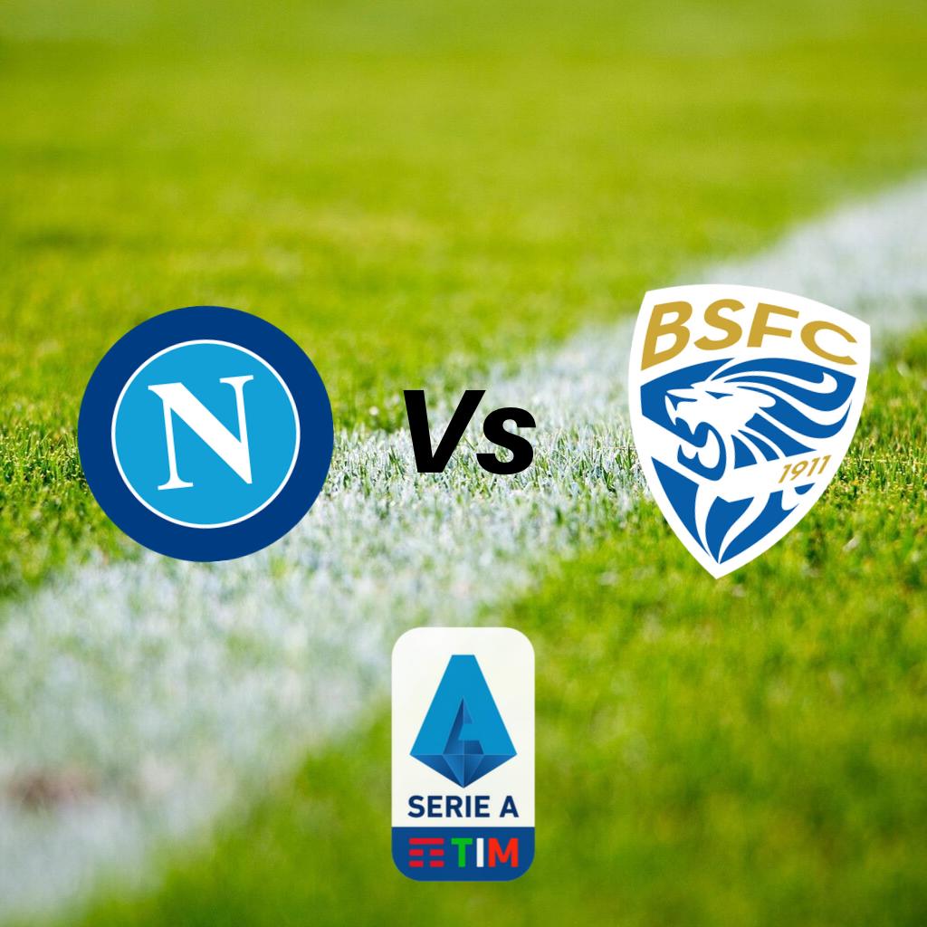 Dove vedere Napoli-Brescia