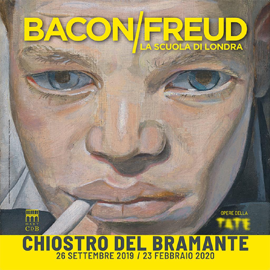 Mostra su Bacon e Freud a Roma locandina