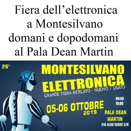 Fiera dell'elettronica a Montesilvano foto