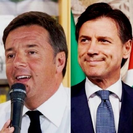 Botta e risposta tra Renzi e Conte