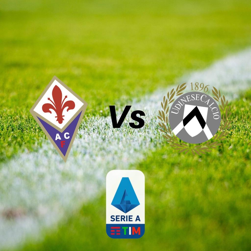 ove vedere Fiorentina Udinese