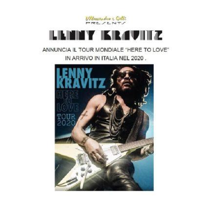 Lenny Kravitz in Italia foto