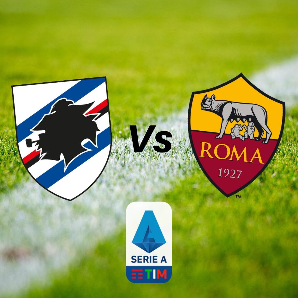 Dove vedere Sampdoria Roma