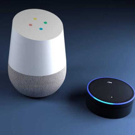 Alexa E Google Home