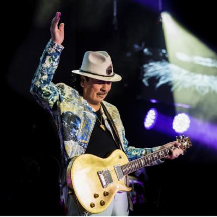 Santana in concerto a Bologna nel 2020