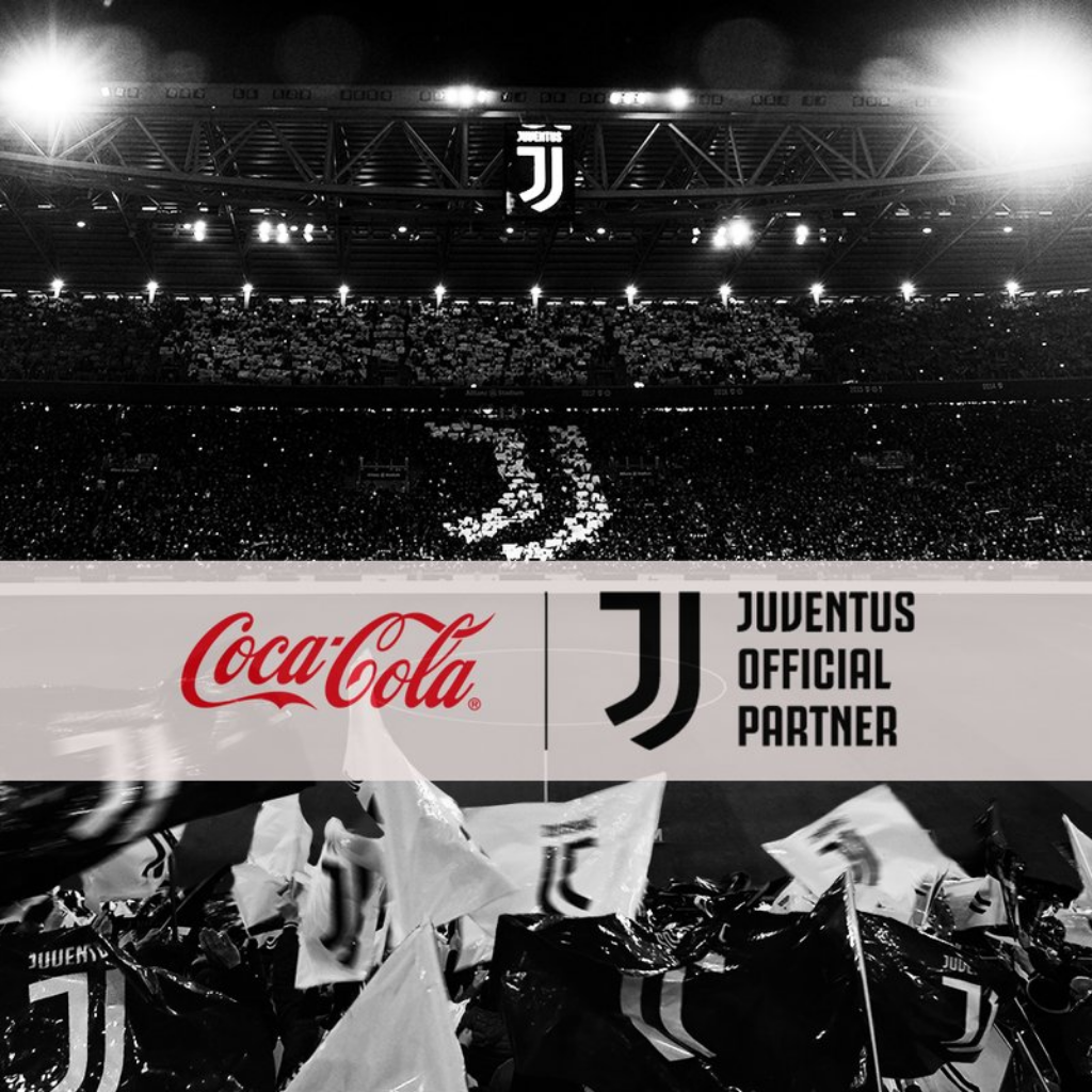 Juventus e Coca Cola trovato accordo