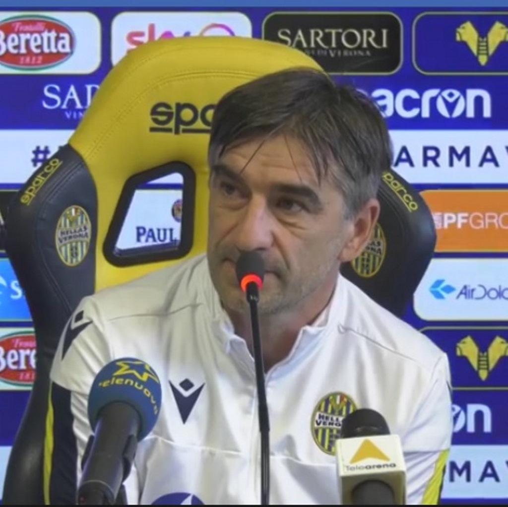 Parma - Hellas Verona le dichiarazioni di Juric foto