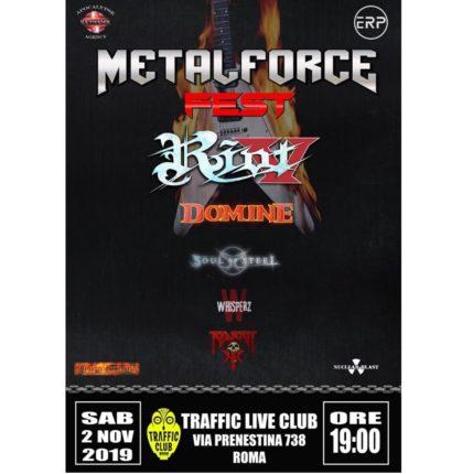 Metalforce Fest prima edizione locandina