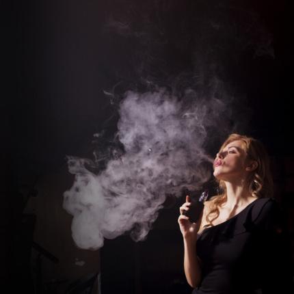 Sigaretta elettronica scoperta