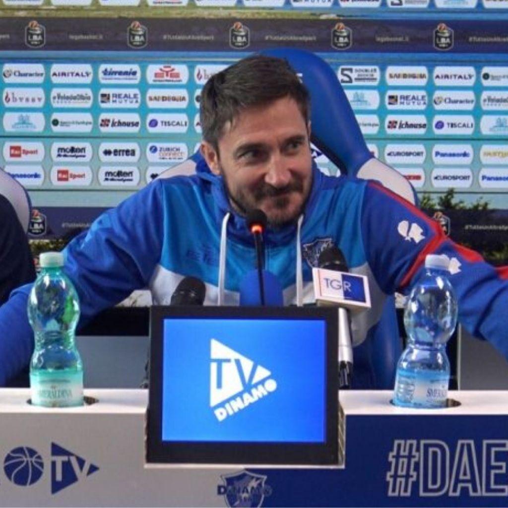 Dinamo Sassari, Pozzecco e le considerazioni su Polonara e Diop