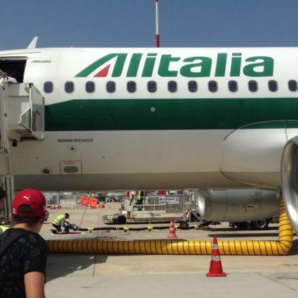 salvataggio di Alitalia è congelato