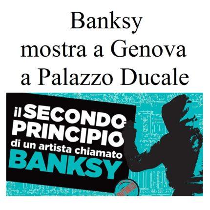 Banksy mostra a Genova foto