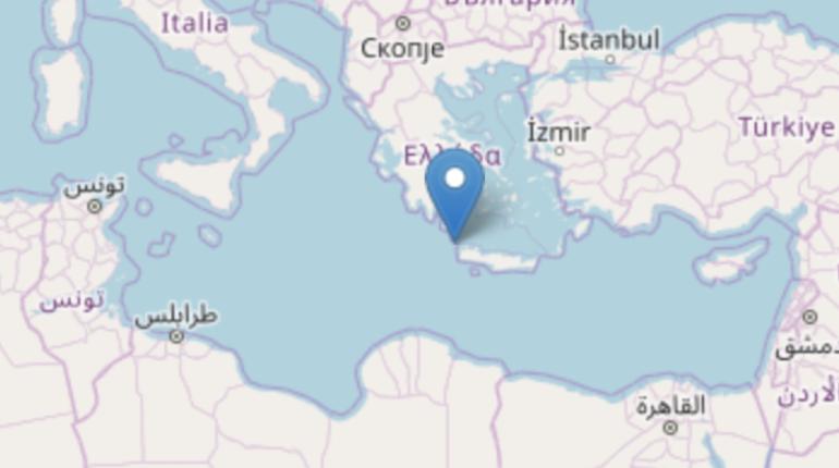 scossa di terremoto in Grecia