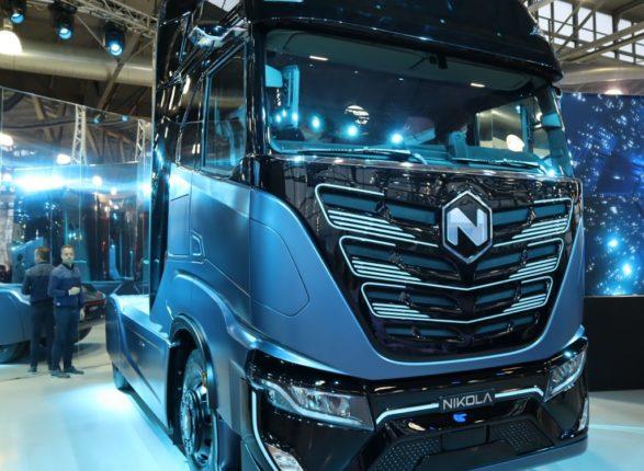 camion elettrico a idrogeno