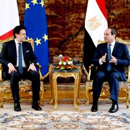 Conte incontra Sisi sul caso Regeni