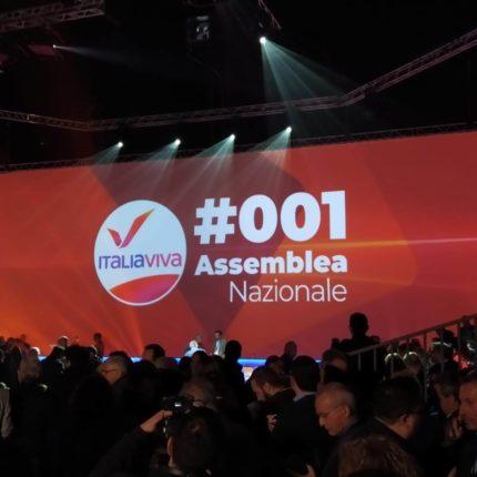 Seconda giornata dell'assemblea di Italia Viva