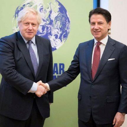Conte incontra Boris Johnson