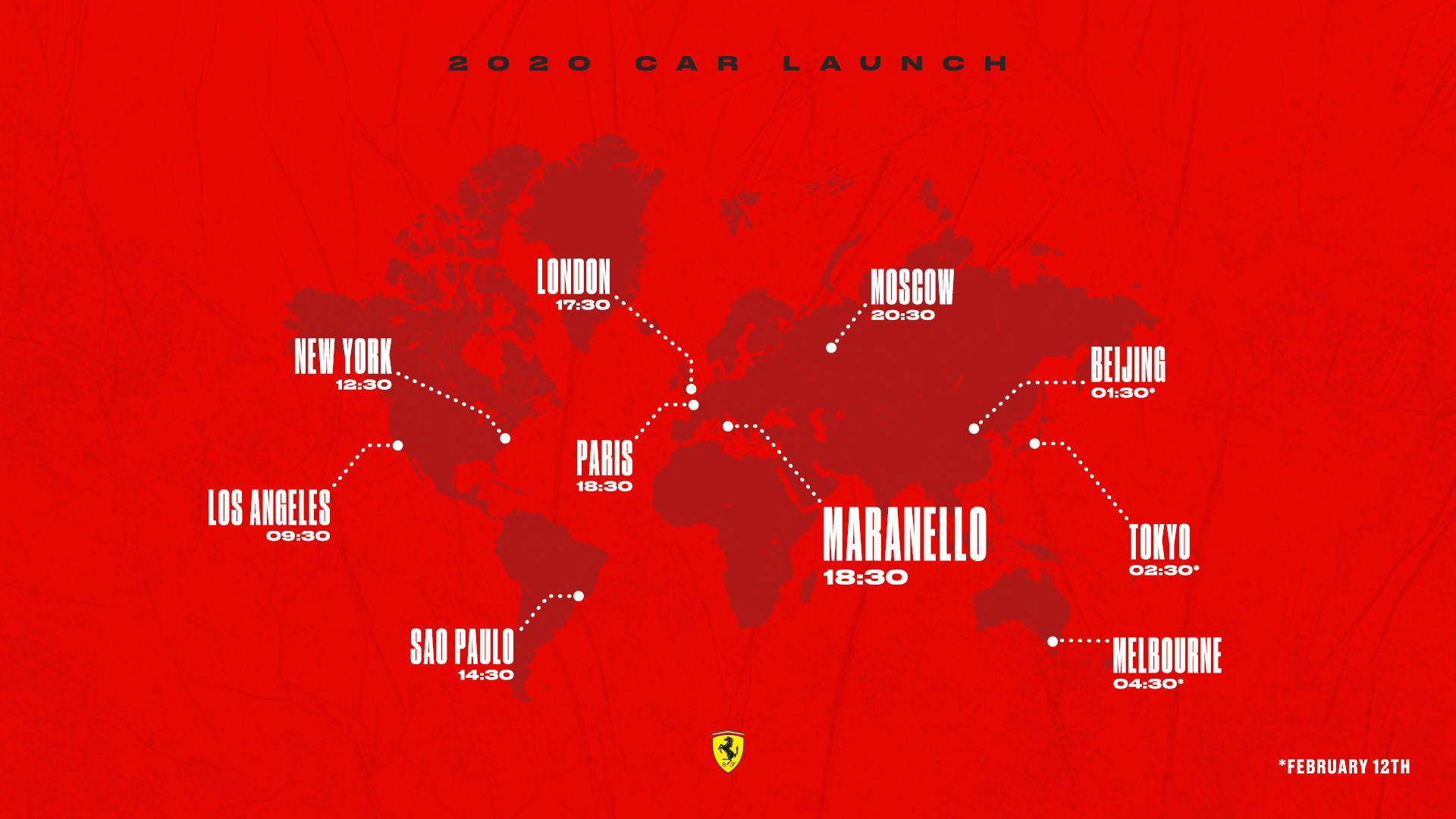 Presentazione Ferrari SF1000 2020