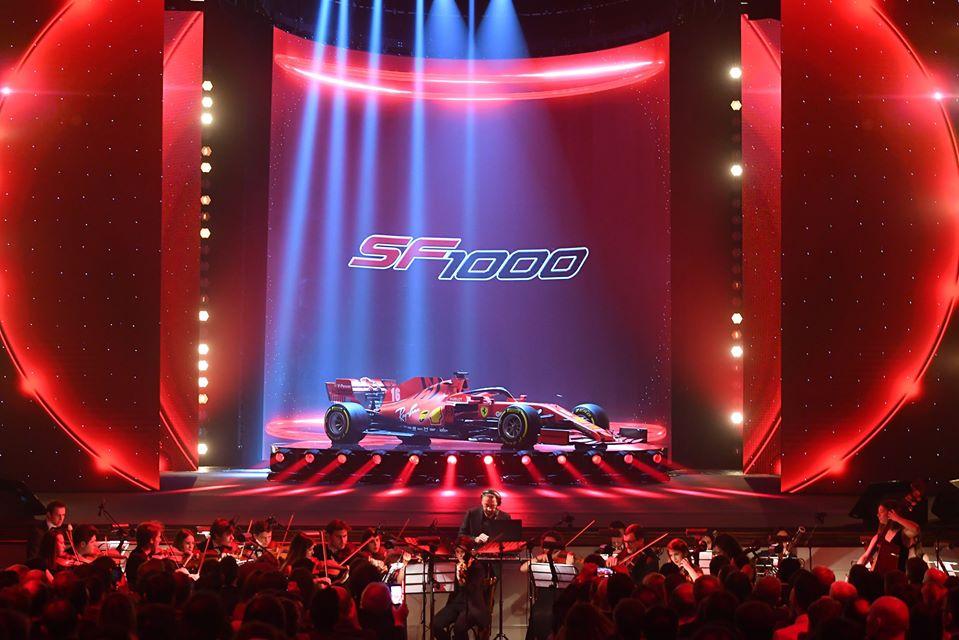 SF1000, svelata la Ferrari 2020