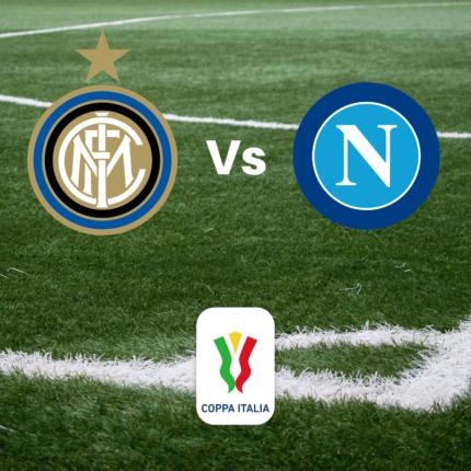 Stasera in TV Tim cup Inter - Napoli