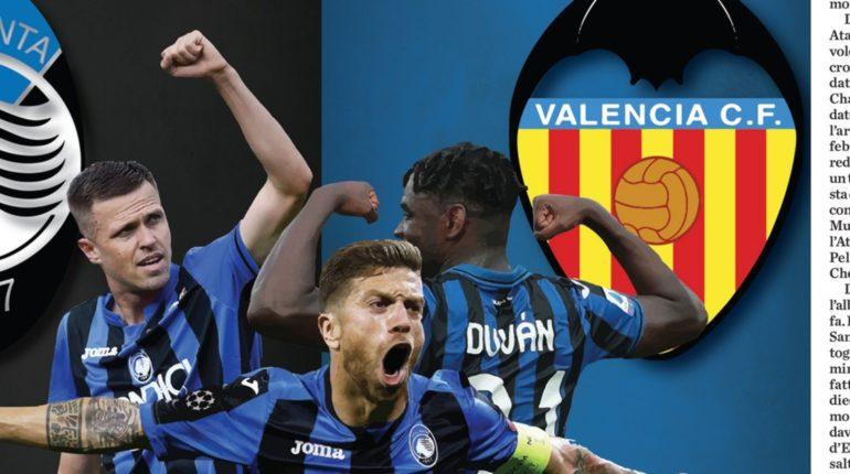 Le probabili formazioni di Atalanta-Valencia