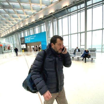 Salvini vuole misure radicali sul coronavirus