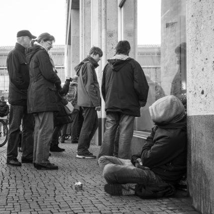 senzatetto in Gran Bretagna
