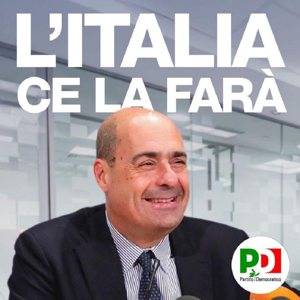 Zingaretti pensa che l'Italia ce la farà
