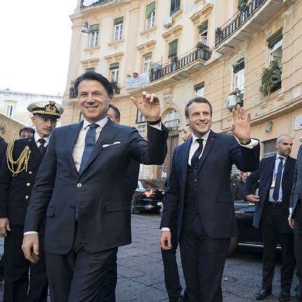 Conte incontra Macron a Napoli