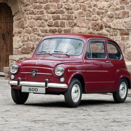 Fiat 600 compie gli anni