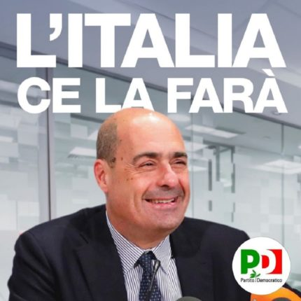 Nicola Zingaretti elogia l'Europa