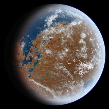 Marte e acqua