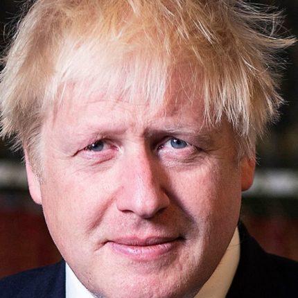 Boris Johnson dimesso