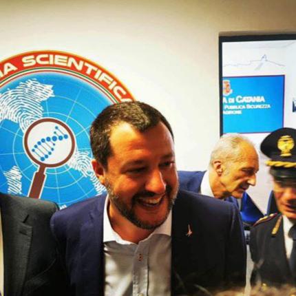 Salvini è apprezzato dal 7% degli italiani